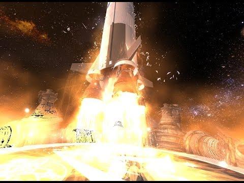 "Tilt Brush: ""To the Moon and Beyond"", 360 degree 4K VR version"