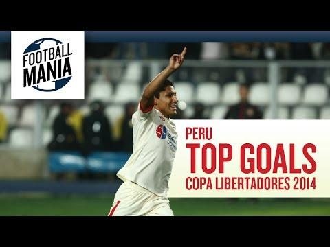 Peru Top Goals - Copa Libertadores 2014