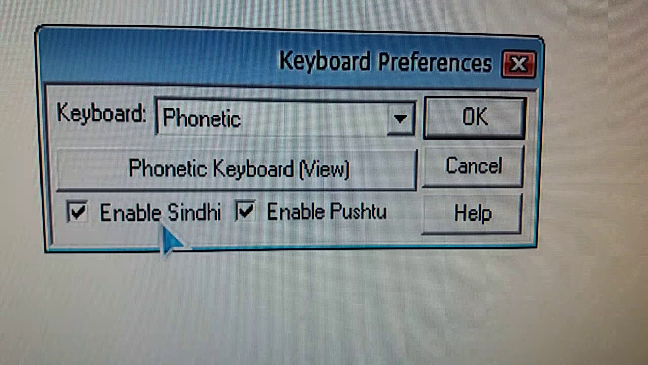 inpage keyboard for pc