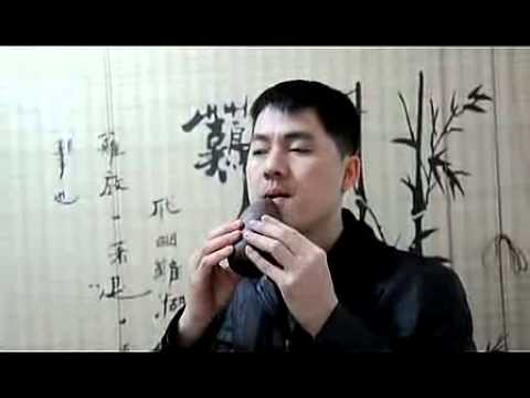 Professional Chinese Clay Flute Ancient Xun Instrument