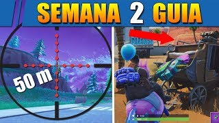 How to COMPLETE THE CHALLENGES of WEEK 3 in FORTNITE! - 50m Elimination, Secret Star!