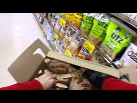 An Utz Snow Panic Sales Day!