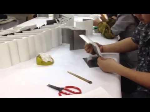 Custom Ice Grip Jewelry Displays Being Made