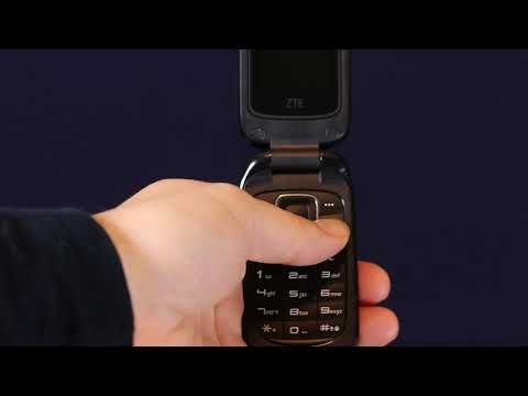 ZTE Flip Phone On/Off Button How To Tutorial