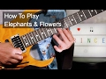 Download 'Elephants & Flowers' Prince Guitar Lesson MP3 song and Music Video