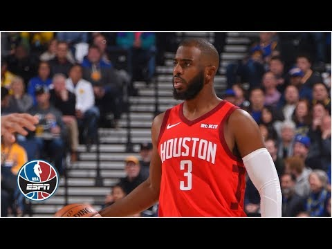 Chris Paul leads Rockets to win vs. Warriors with James Harden out | NBA Highlights