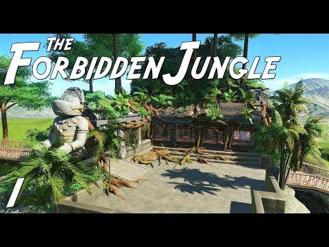 The Forbidden Jungle (adventure) | Planet Coaster | Ep. 1 | Temple Restaurant