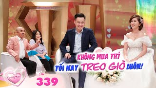 The Newlyweds | Ep 339: Wife forbids husband for a week for not buying what she likes