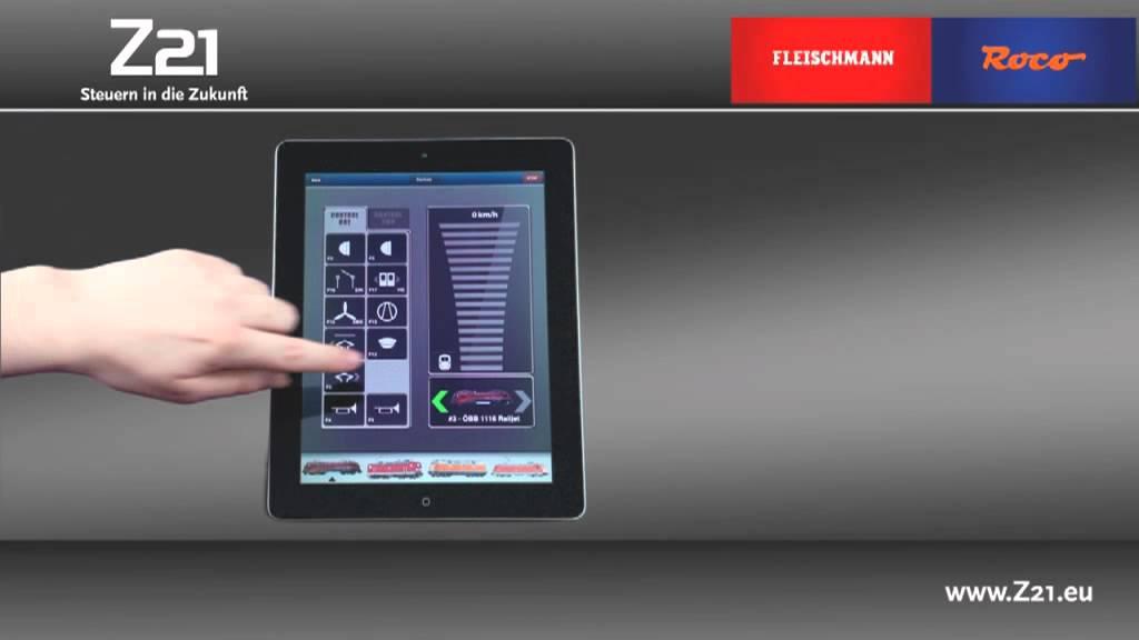 Roco Z21 DCC Wireless Digital System - YouTube