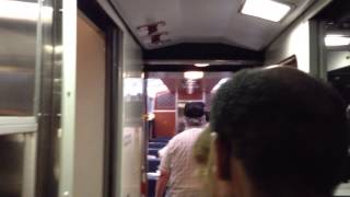 5/11/13 Amtrak Viewliner Sleeper & Diner Tour