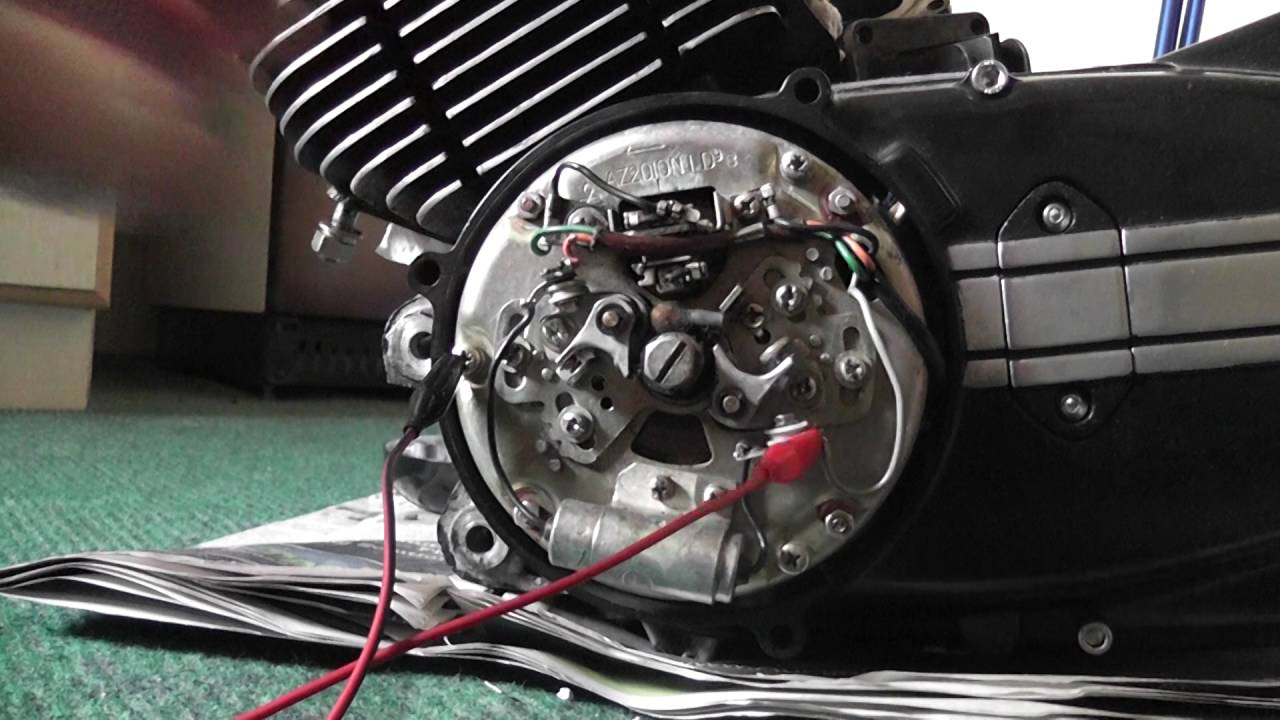hight resolution of yamaha rd 350 points and timing issue