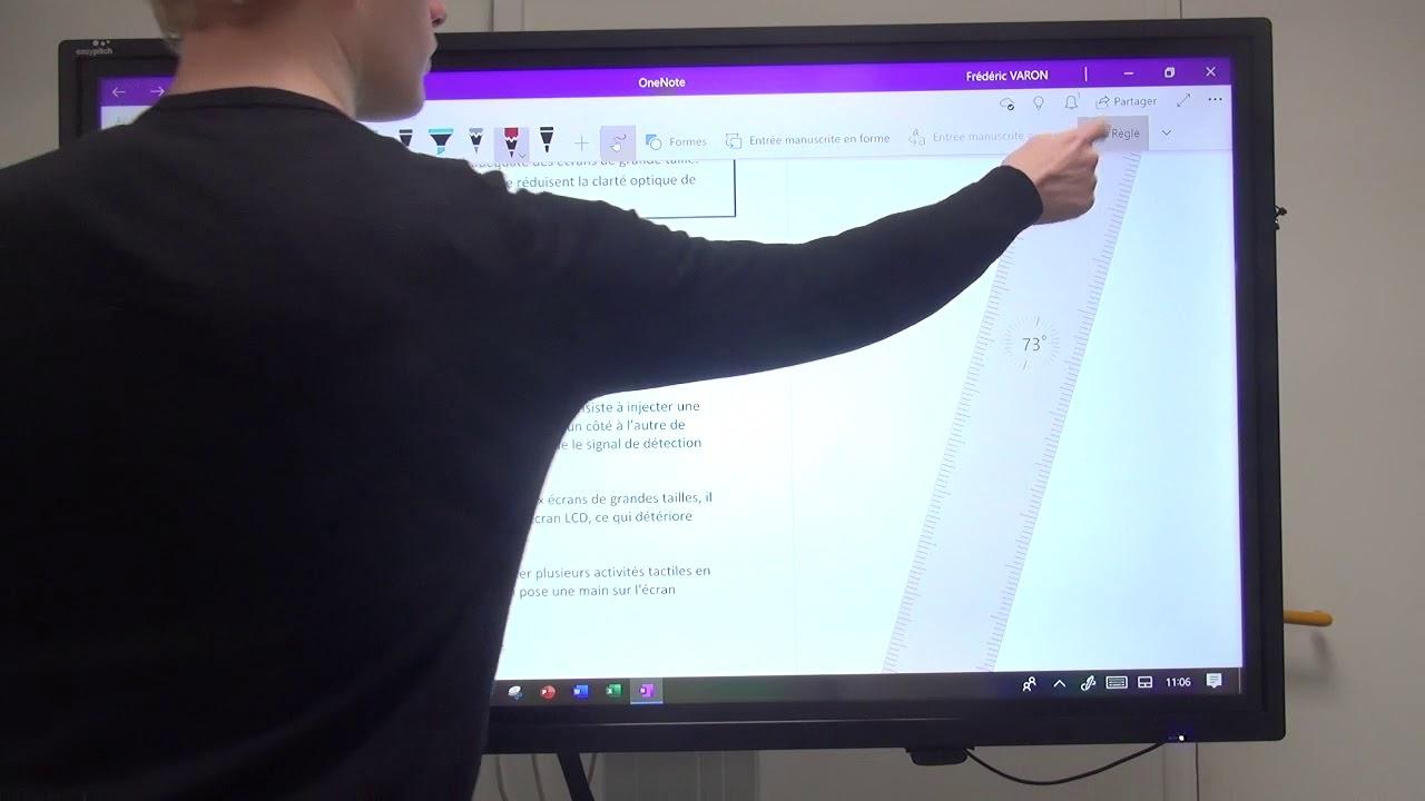 Créer Et Modifier Ses Notes Sur Onenote En Mode Tactile