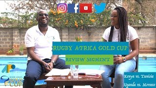 Official Podcast for the 2018 Rugby Africa Gold Cup; Review Segment (Match Day 6)