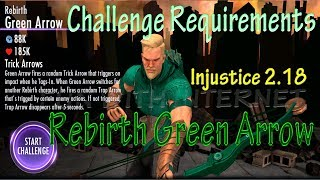 Rebirth Green Arrow 🏹 Challenge Requirements & Gameplay iOS/Android