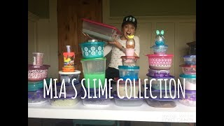 MIA'S SLIME COLLECTION!!💗