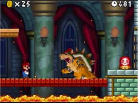 New Super Mario Bros - Final Boss Techno Remix
