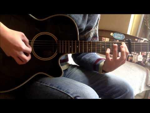 Toaru Kagaku no Railgun OP 1 - only my railgun guitar cover (solo)