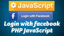 Integrate Login with Facebook using Javascript