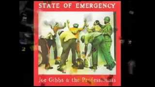 Joe Gibbs & The Professionals-State Of Emergency-Full LP