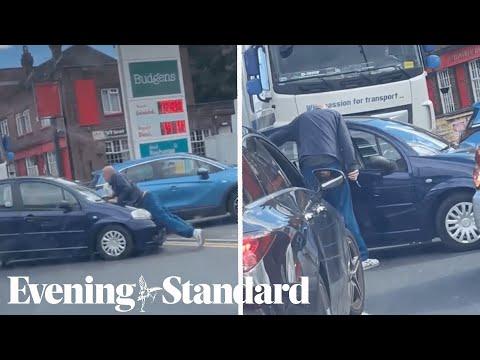 Fuel Crisis: Man pulls knife on queue jumper at London petrol station