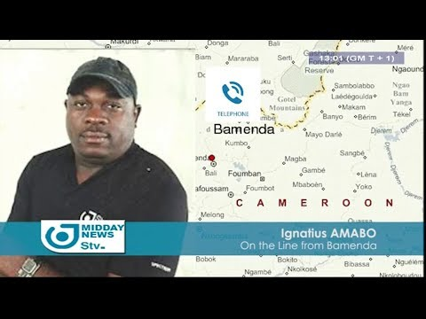 STV MIDDAY NEWS 01:00 PM -(TENSE ATMOSPHERE in BAMENDA before the SDF CONGRESS)- 21st February 2018