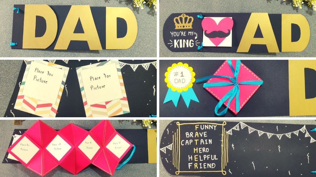 Diy Birthday Gift For Your Dad