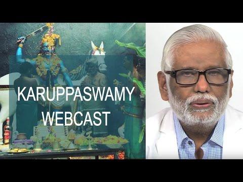 Karuppaswamy Webcast
