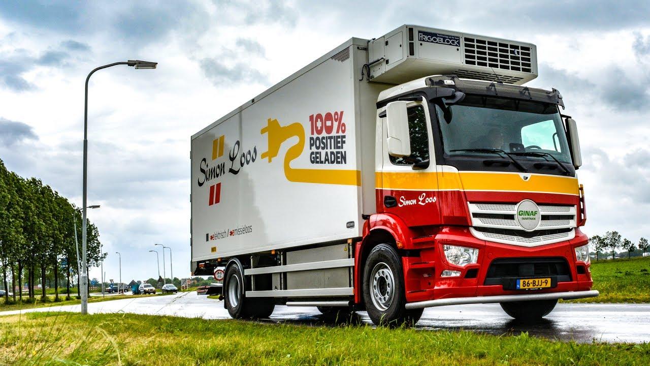 100% positief geladen - elektrische truck Simon Loos - YouTube