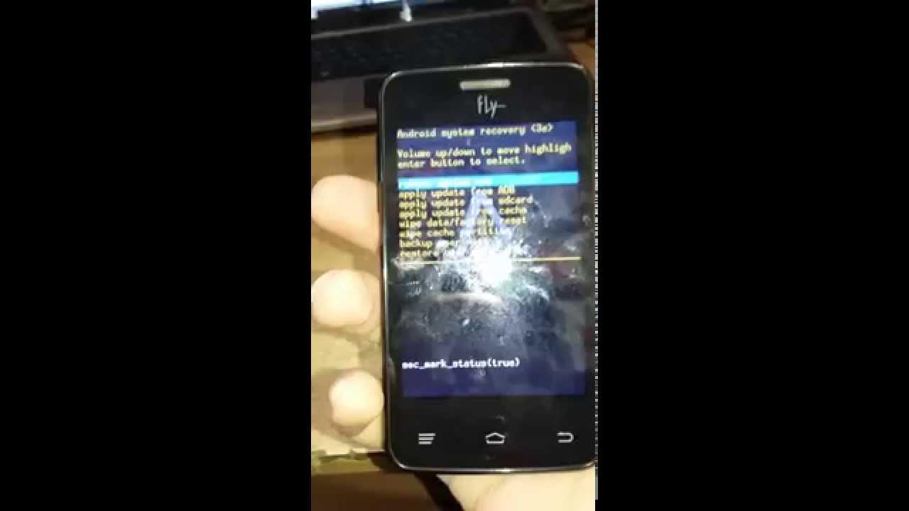Как сделать сброс настроек на андроиде fly фото 594