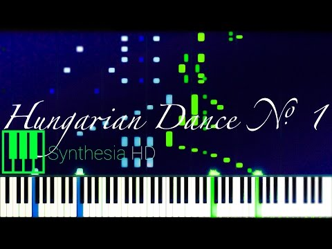 Hungarian Dance No. 1 // BRAHMS [Solo Piano Tutorial] (Synthesia)