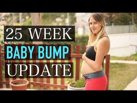 MY PREGNANCY BUMP UPDATE 25 WEEKS