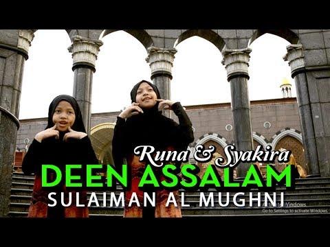 DEEN ASSALAM - Sulaiman Almughni ( COVER - Runa & Syakira )