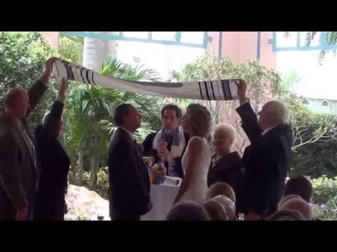 FUNNIEST EVER WEDDING UNDER THE CHUPPAH- Ira & Diane