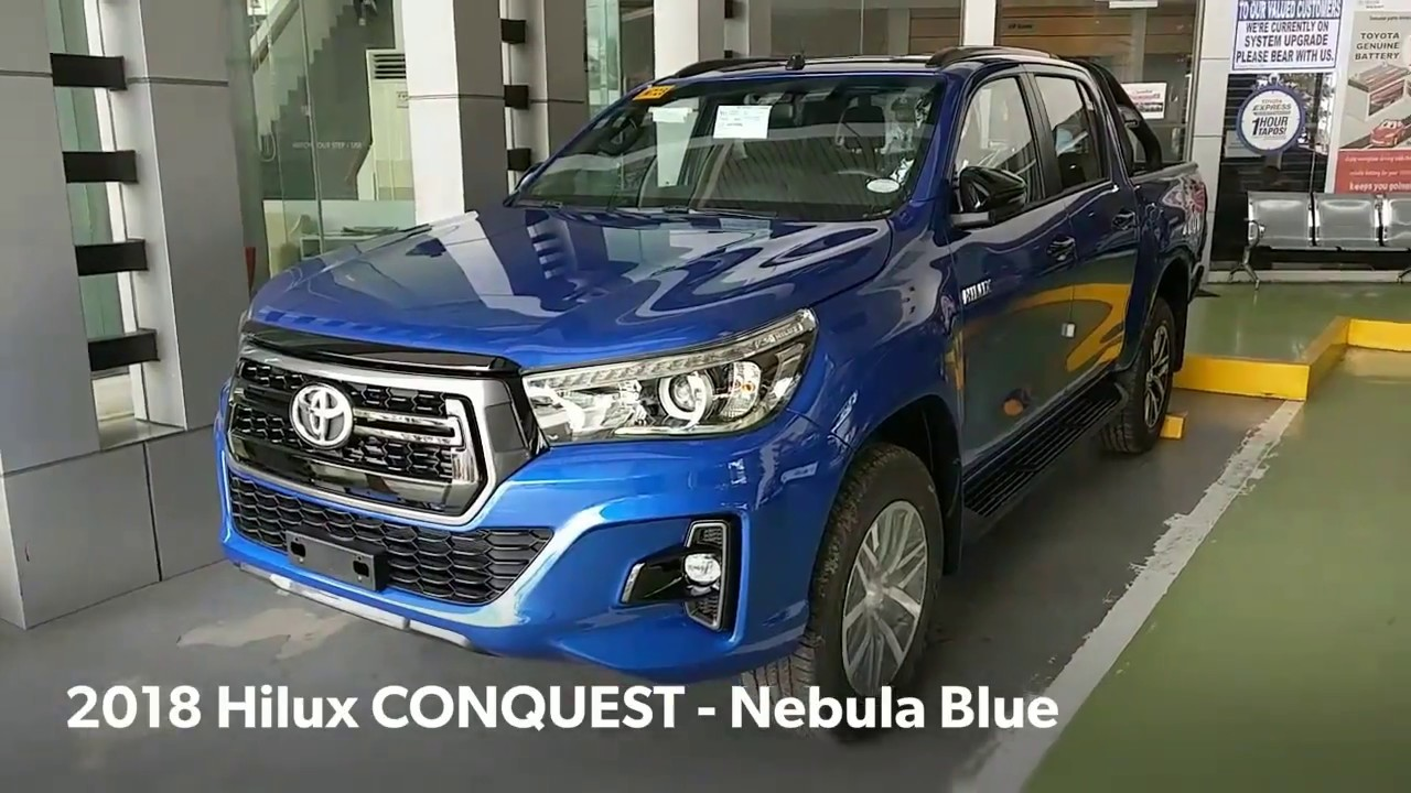 Toyota Hilux CONQUEST | Nebula BLUE (Philippines) - YouTube