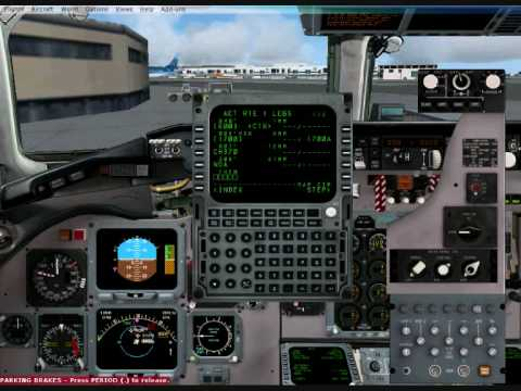 Flight Simulator X - How to set up an FMS