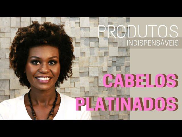 Top 5: Produtos Indispensáveis para os cabelos platinados