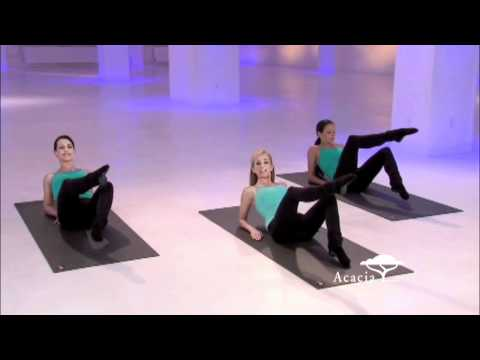 Abs Segment from X-tend Barre: Lean & Chiseled