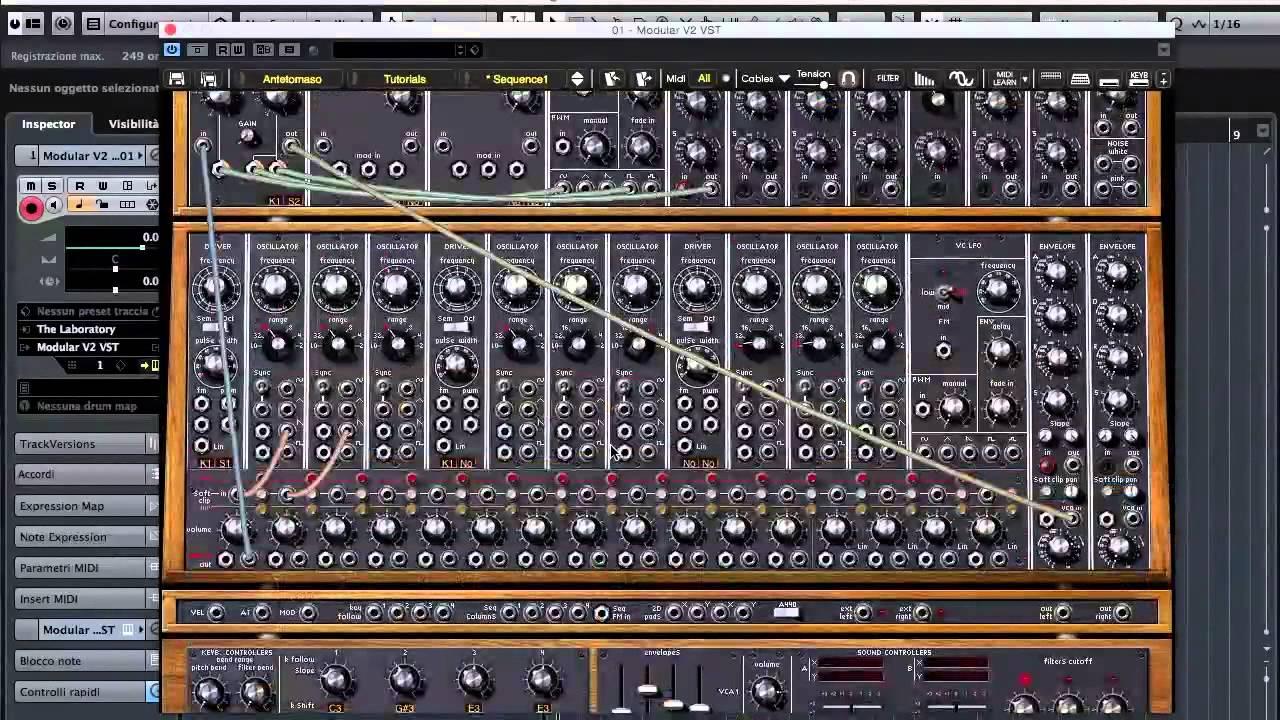 Arturia Moog Modular V2 The Sequencer Youtube Phono Preamplifier