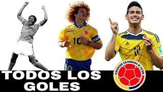 Todos los goles de Colombia en las Copas del Mundo | 1962-2014