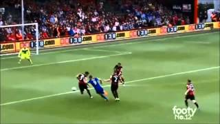 Bournemouth 1:1 Leicester City (29 Aug 2015) Full Highlights