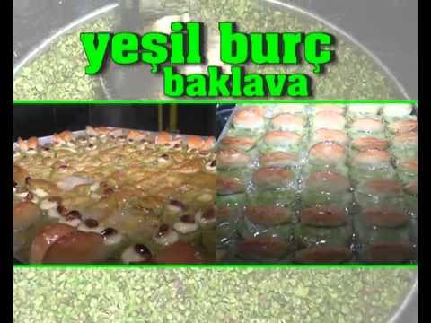 Yeşil burç baklava ((REKLAM))