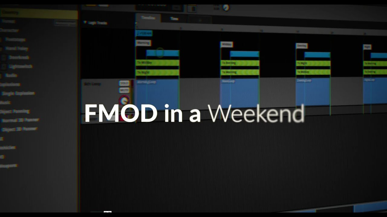 FMOD In A Weekend | ThinkSpace Education