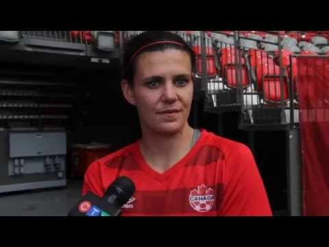 CANWNT: Christine Sinclair ready for very tough German team