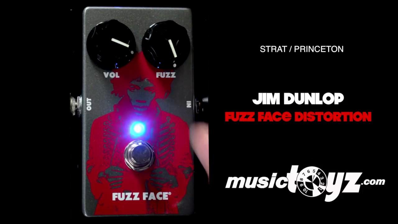 jim dunlop fuzz face distortion guitar pedal [ 1280 x 720 Pixel ]