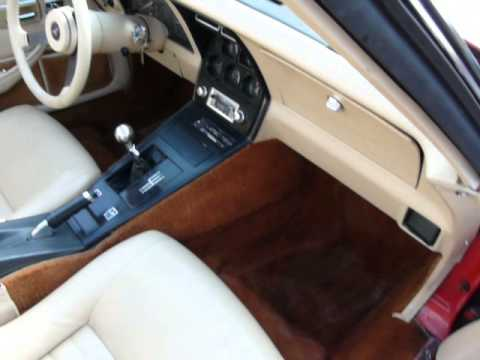 1980 red corvette 4spd tan interior youtube. Black Bedroom Furniture Sets. Home Design Ideas