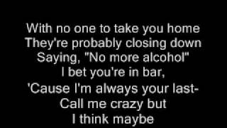 LAST CALL (LYRICS)