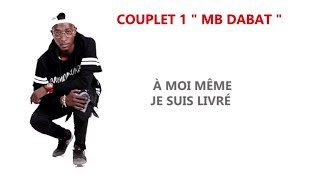 MB Dabat Ft. Serge Beynaud - Chacun son tour - lyrics