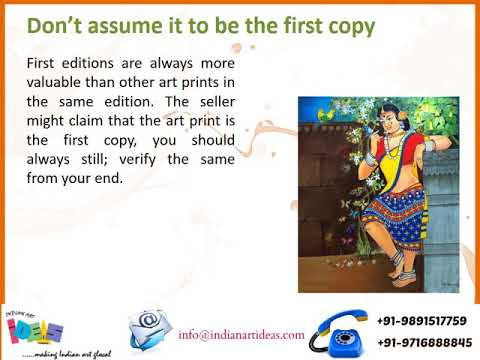 Quick Tips to Buy Original Art Prints Online