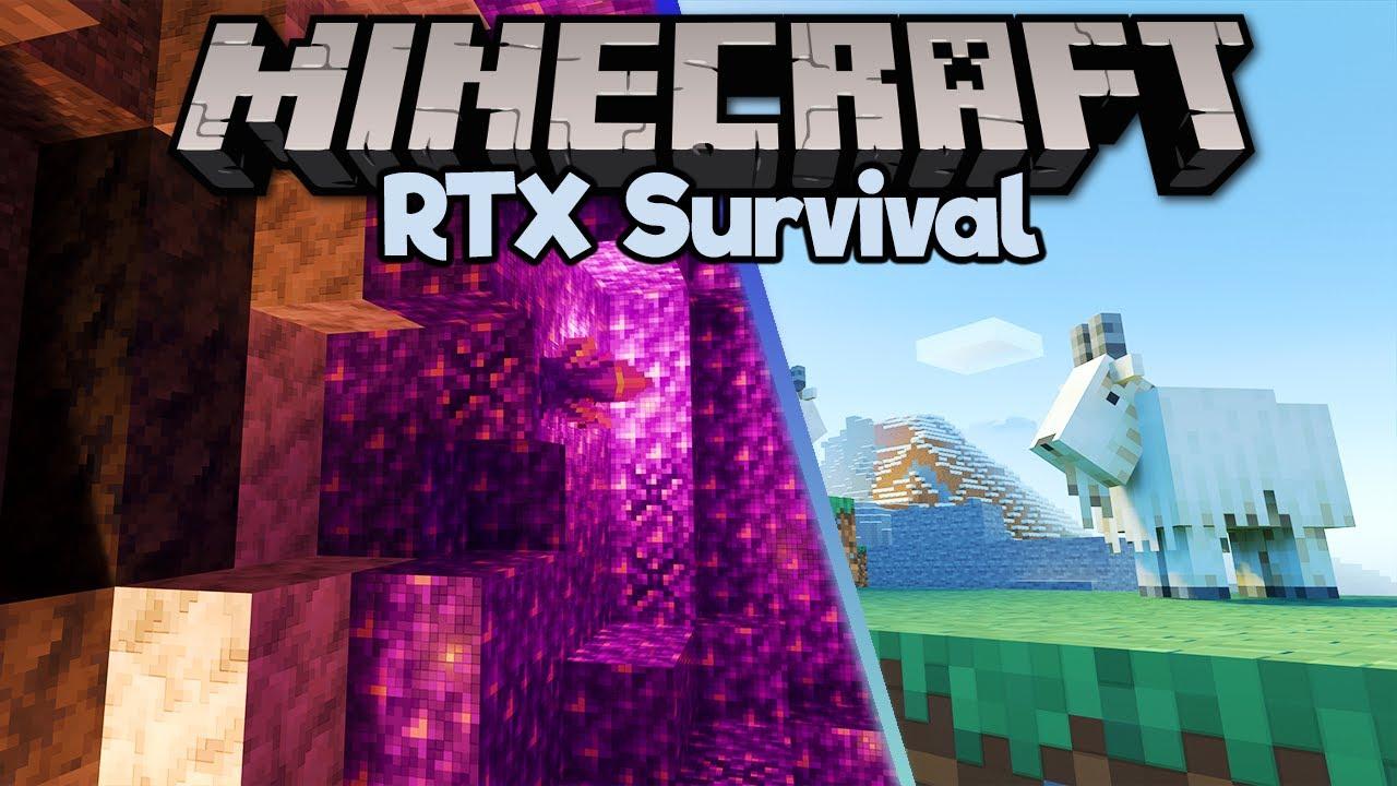 Caves & Cliffs Update in Minecraft RTX! ▫ Minecraft RTX Survival S2 [Part 11]