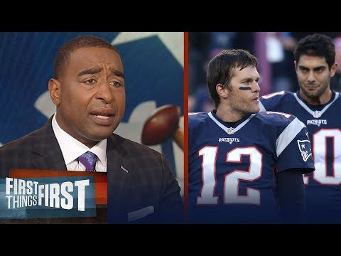 Cris Carter reacts to Jimmy G's comment that he's 'better than' Tom Brady | NFL | FIRST THINGS FIRST